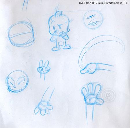 Pocoyo Sketch 1