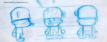 Pocoyo Sketch 2