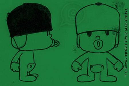 Pocoyo Sketch 3